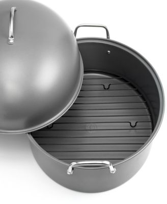 Tools of the Trade Carbon Steel Covered Oval Roaster