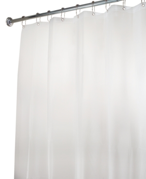 "Interdesign Shower Curtain Liner, Eva Extra Long 72"" x 96"""