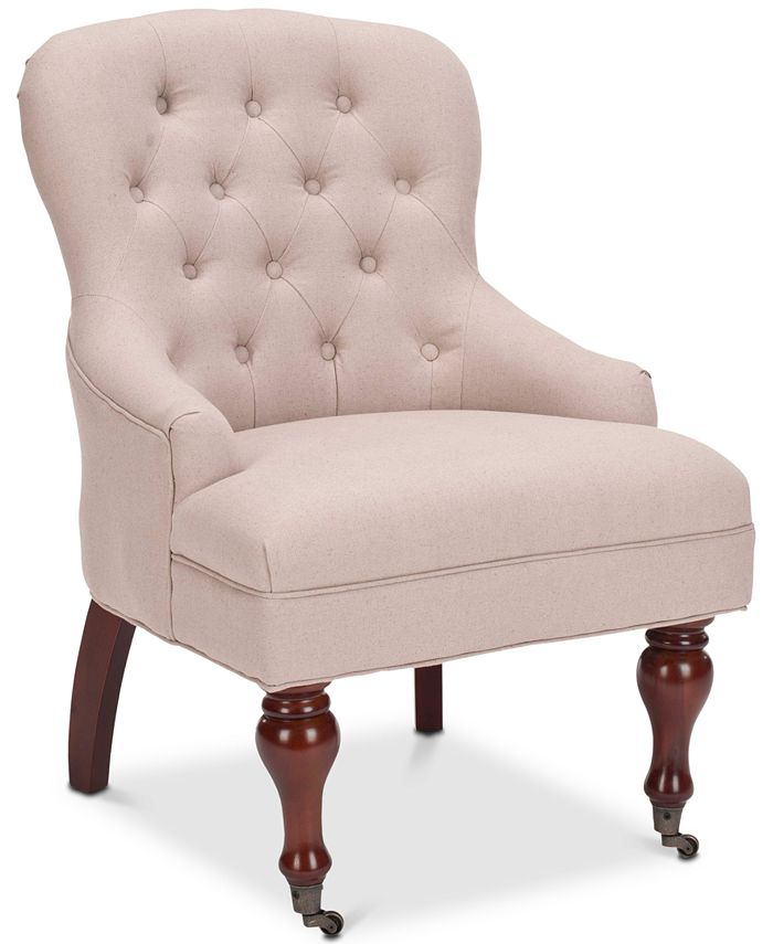 Safavieh - Alyna Accent Chair, Quick Ship