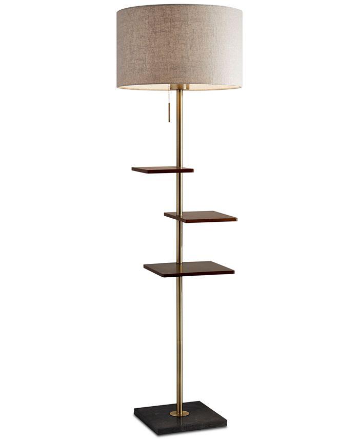 Adesso - Griffin Shelf Floor Lamp