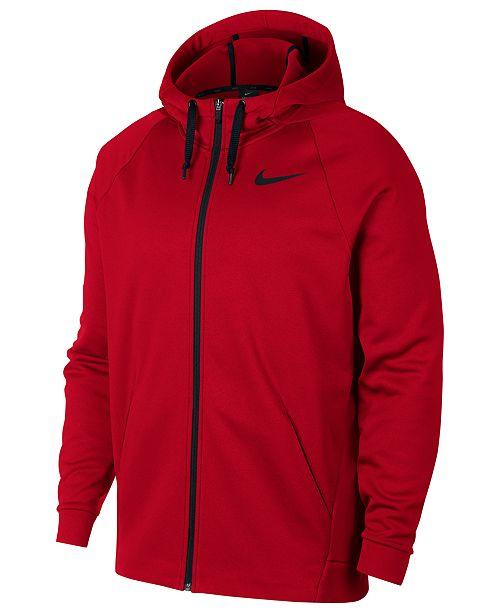 Nike Men's Therma Training Full Zip Hoodie & Reviews ...