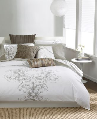 Bar III™ Vintage Scroll Full/Queen Comforter