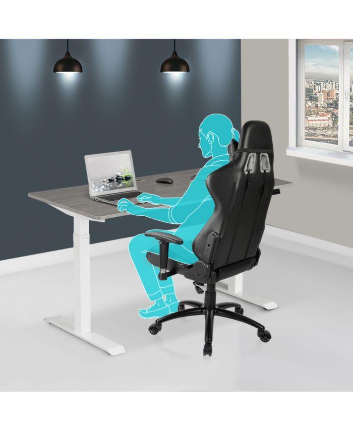 RTA Products Techni Mobili Desk & Reviews - Furniture - Macy's
