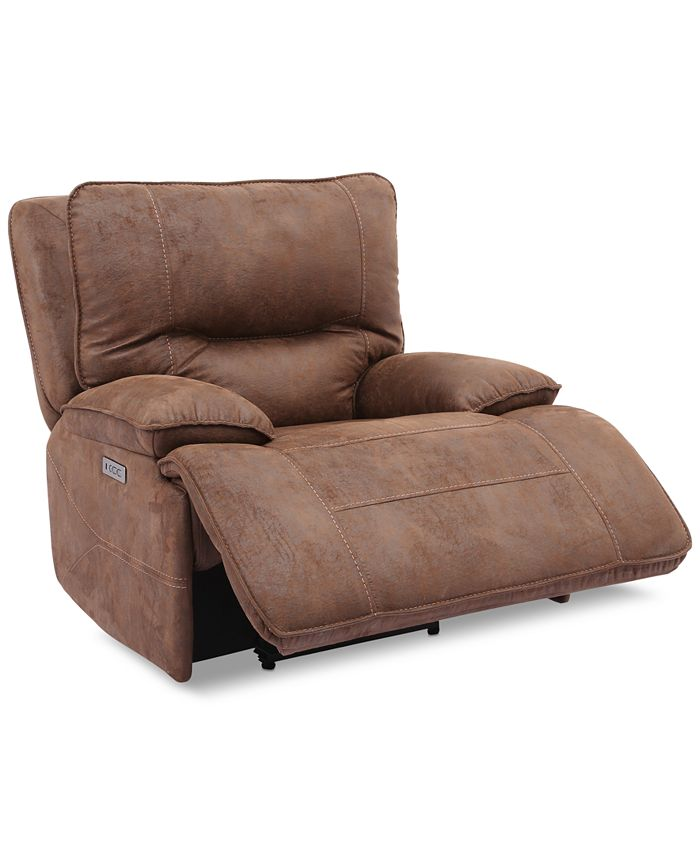 Furniture - Power Recliner With Power Headrest And USB Power Outlet