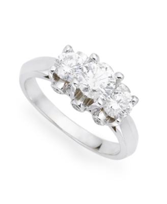 14k White Gold Diamond Ring (1-1/2 ct. tw.)