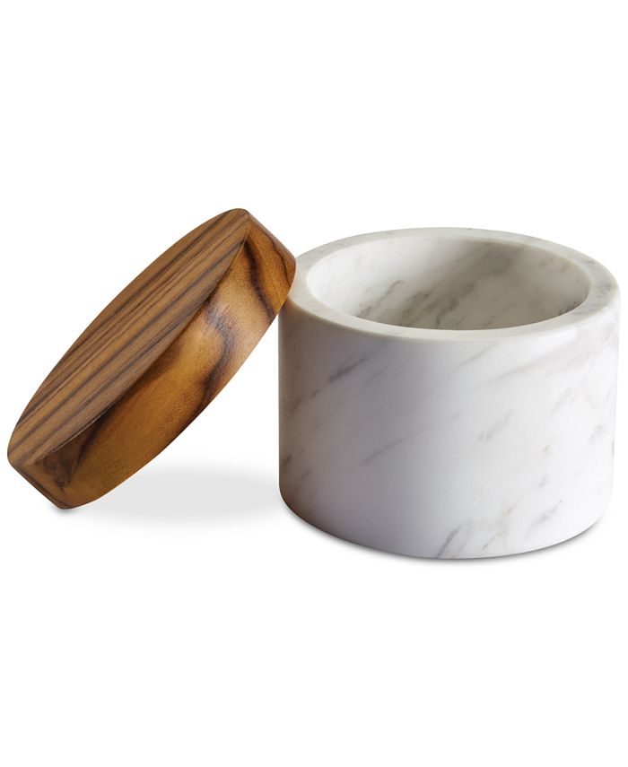 Anolon - Pantryware White Marble Salt Cellar