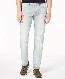 A|X Armani Exchange Men's Straight-Fit Stretch Jeans