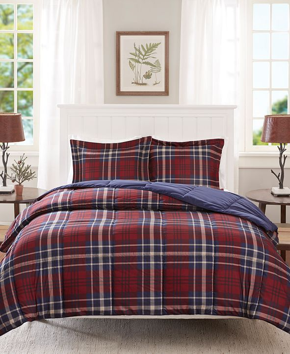 Madison Park Bernard 3-Pc. King/California King Comforter Set