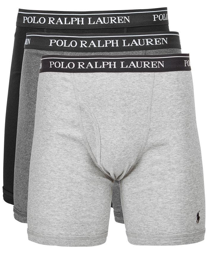 Polo Ralph Lauren - Men's 3-Pk. Classic Cotton Boxer Briefs