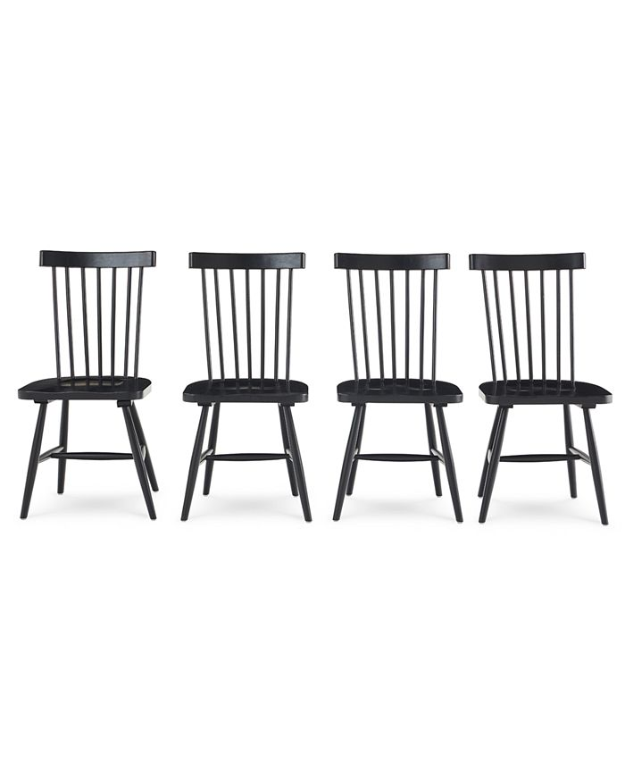 Furniture - Bensen Dining Chair, 4-Pc. Set (Set of 4 Chairs)