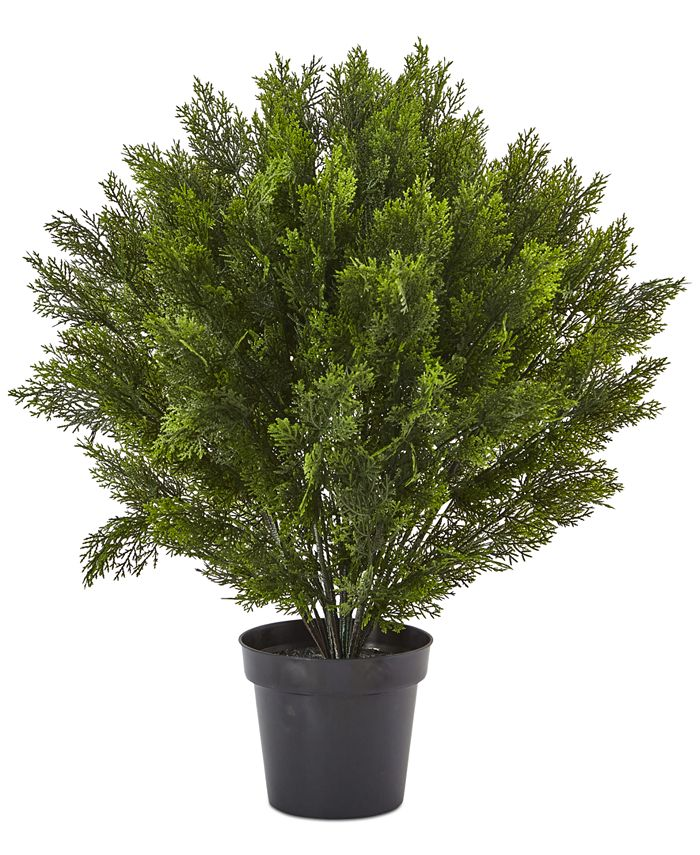 Nearly Natural - 3' Cedar Indoor/Outdoor Artificial Bush