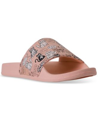 Cat Chat Bobs for Dogs Slide Sandals