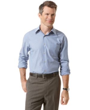 Van Heusen Shirt, Striped Broadcloth