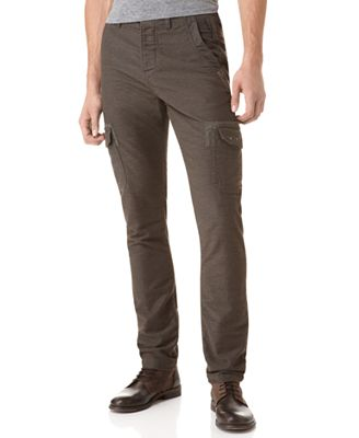Guess Pants Melange Sateen Dobby Cargo Pants Web ID 593556