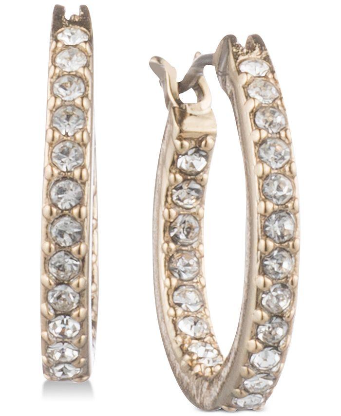 Givenchy - Pavé Hoop Earrings