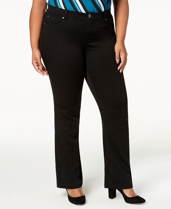 INC International Concepts - Plus Size & Petite Plus Bootcut Jeans