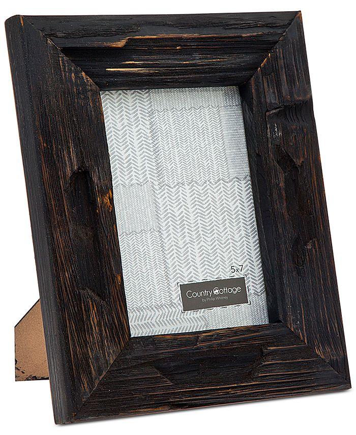 "Philip Whitney - 5"" x 7"" Black Barn Picture Frame"
