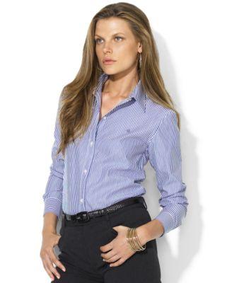 Womens Pinstripe Shirt