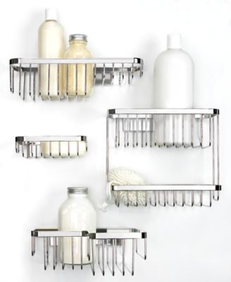 Interdesign Bath Accessories, Easy Lock Pro Medium Combo Basket