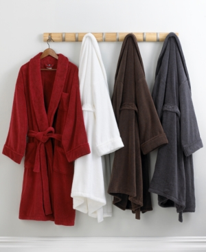 "Hotel Collection ""Cotton"" Long Bath Robe, Two Sizes"