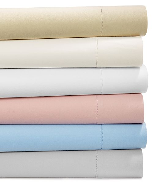 Martha Stewart Collection Luxury 100 Cotton Flannel 4 Pc Full Sheet Set Created For Macy S Reviews Sheets Pillowcases Bed Bath Macy S