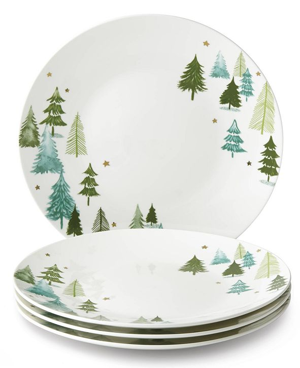 Lenox Balsam Lane 4-piece Dinner Plate Set