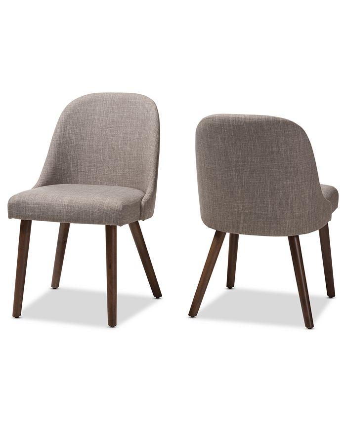 Furniture - Trixye Dining Chair (Set Of 2), Quick Ship