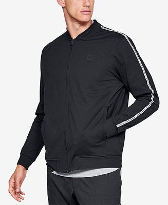 cruzar Una herramienta central que juega un papel importante. Lectura cuidadosa  Under Armour Men's Sportstyle Track Jacket Created for Macy's & Reviews -  Coats & Jackets - Men - Macy's