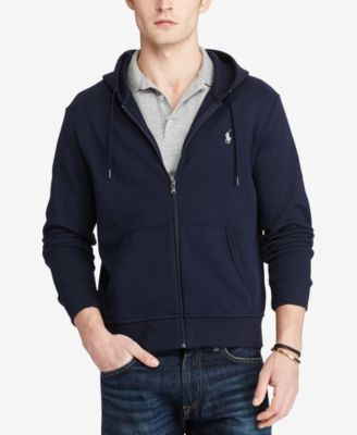 Men's Big & Tall Double-Knit Full-Zip Hoodie