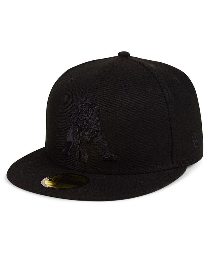 New Era - Black on Black 59FIFTY FITTED Cap