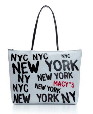 Macy's Handbag, Graffiti Logo Tote