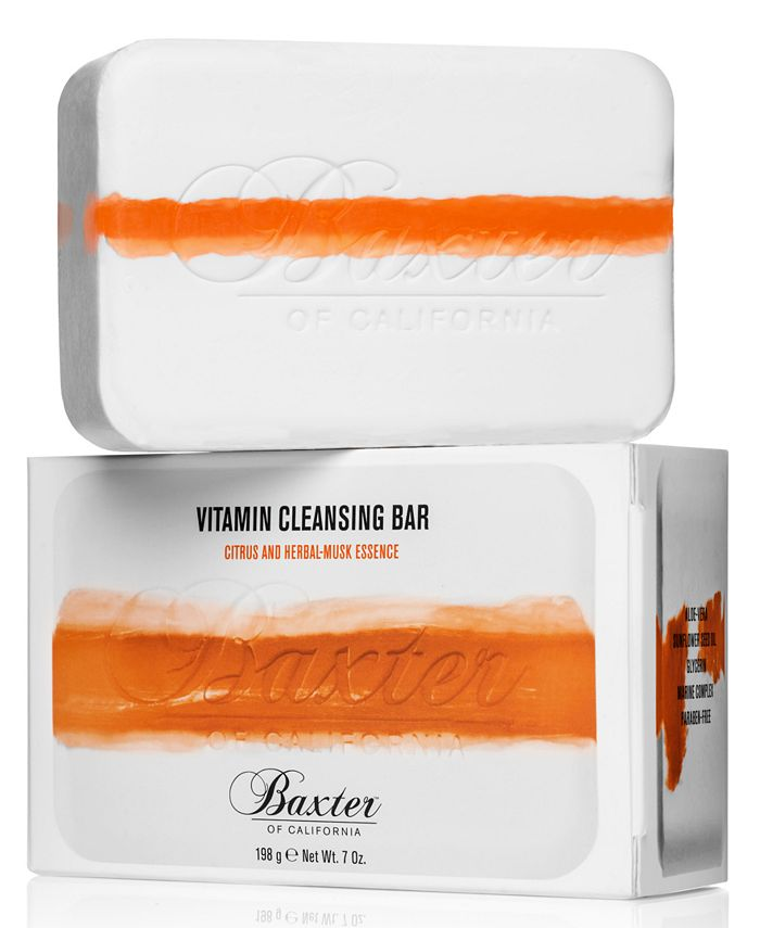Baxter Of California - Baxter Vitamin Cleansing Bar - Citrus & Herbal-Musk Essence, 7-oz.