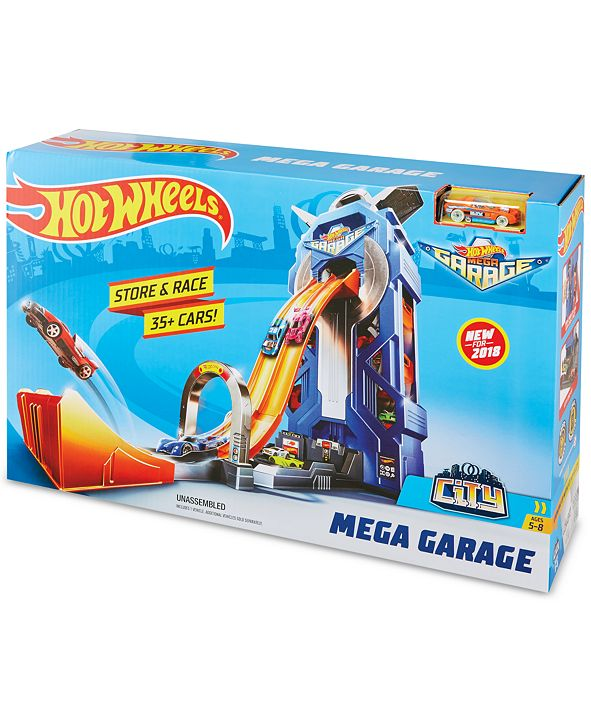 Hot Wheels Mattel Mega Garage