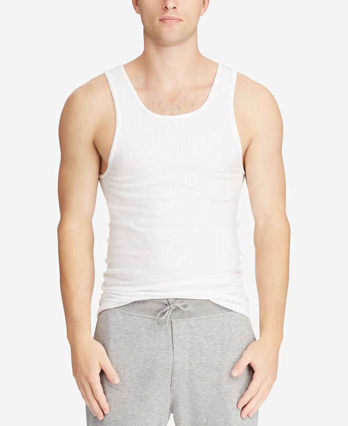 Polo Ralph Lauren - Men's Big & Tall 2-Pk. Cotton Tank Tops