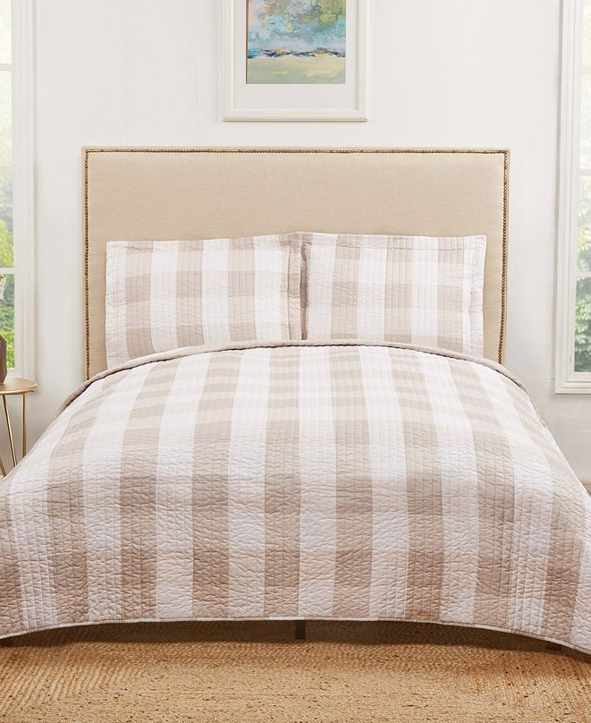 Truly Soft Everyday Buffalo Plaid Full/Queen Quilt Set