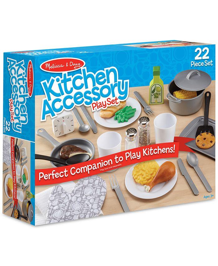 Melissa and Doug - Kitchen Accessory Playset