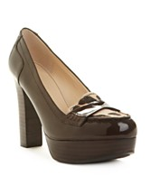 Marc Fisher Shoes, Keeps Loafer Platform Pumps - A Macy's Exclusive