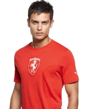 Puma T Shirt Ferrari Shield Logo Tee