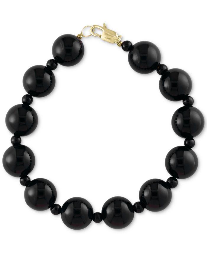 EFFY Collection EFFY® Onyx (4 & 10mm) Bracelet & Reviews - Bracelets - Jewelry & Watches - Macy's