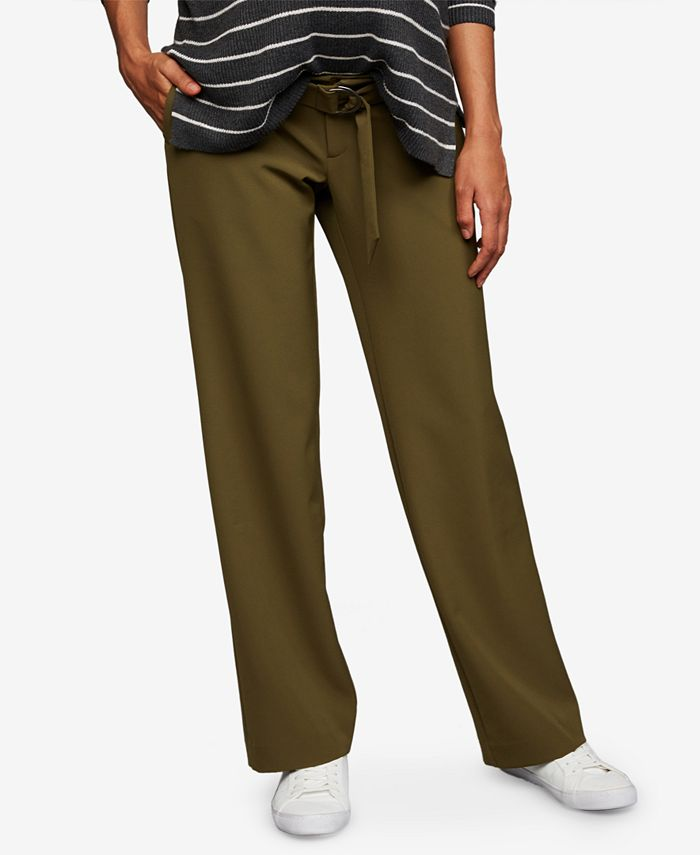 A Pea in the Pod - Maternity Wide-Leg Drawstring Pants