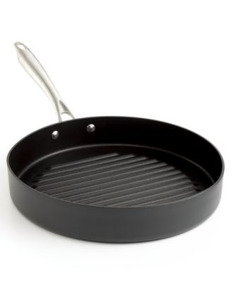 """Cuisinart DS Anodized 11"""" Round Grill Pan"""