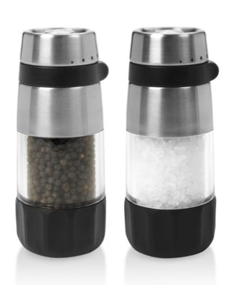 OXO Salt and Pepper Shakers Grinder Set