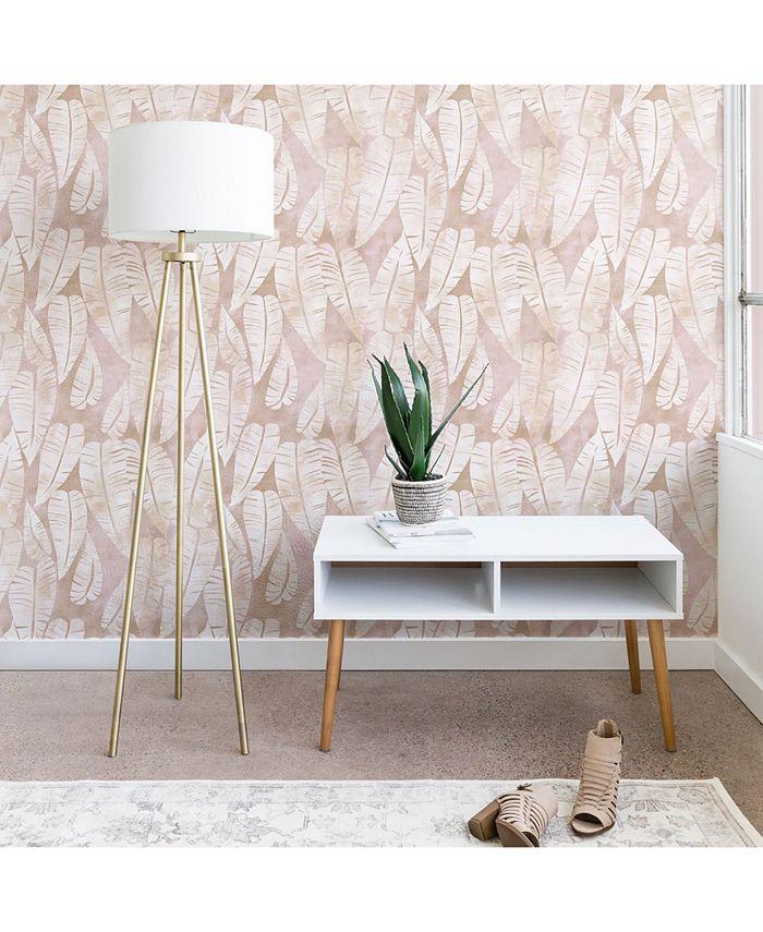 Deny Designs - Schatzi Brown Island Goddess Leaf Creme Wallpaper