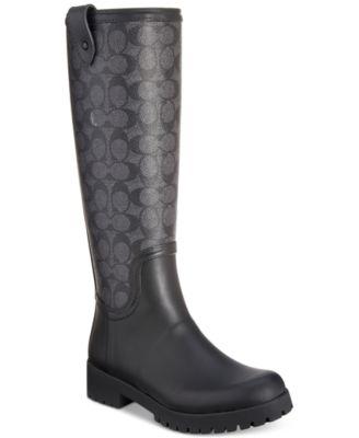 COACH Signature Rain Boots \u0026 Reviews