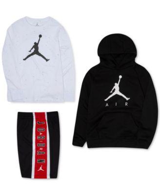 Jordan Big Boys Jumpman Fleece Hoodie