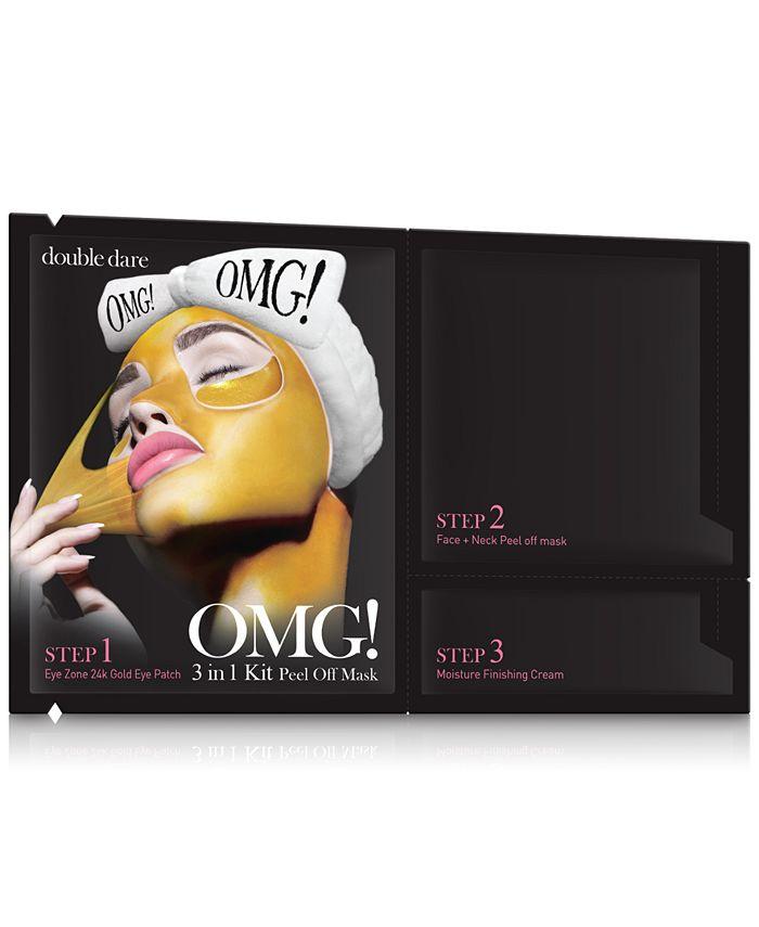 Double Dare - OMG! 3-In-1 Peel Off Mask