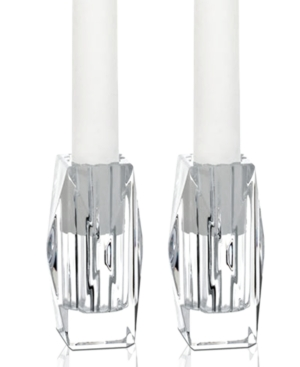 Baccarat Candle Holders, Set of 2 Louxor Candlesticks