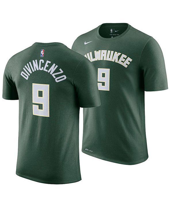 Nike Men's Donte DiVincenzo Milwaukee Bucks Icon Player T-Shirt