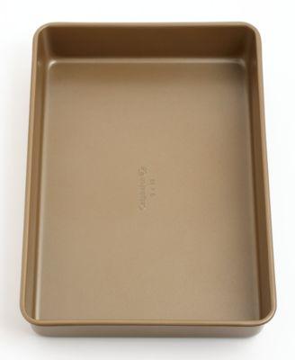 "Calphalon Simply Nonstick Cake Pan, 9"" x 13"" Toffee"