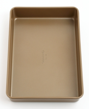 "Calphalon Simply Nonstick Cake Pan, 9"" x 13"" Toffee"